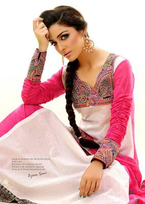 Stylish summer Lawn Outfits Collection 2012