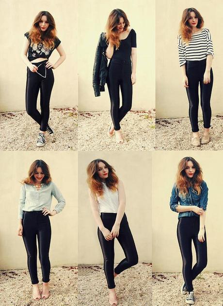 fashion blogger disco pants american apparel