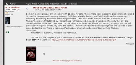 Authors Behaving Badly #5