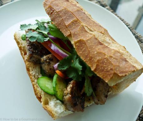 Celebrating Sandwich Week Vietnamese style with a Pork Bánh Mì