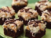 This Week's Make Bake Almond Macaroon Brownie Bars