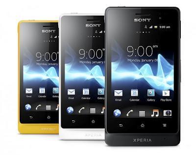 Sony Xperia Acro and Xperia Go