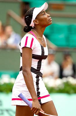 Venus Is Out Too! - Venus Williams Out Of 2012 French Open