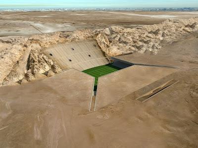 On the Boards ::: Al Ain stadium