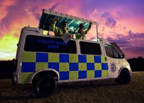 Viral video: Police Rave Unit