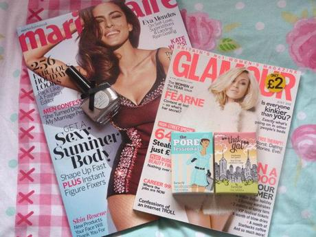 Marie Claire and Glamour Magazine Freebies