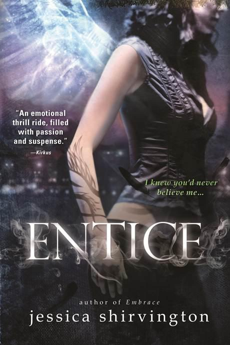 Cover Reveal: Entice by Jessica Shirvington