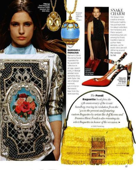 fabergemagazineWhats Trending   Baroque vs. Broke: Get the Look for Less!