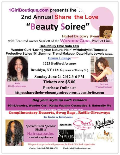 "Savvy's Hosting the 2nd Annual ""Beauty Soiree"" in Brooklyn!"