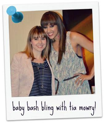 Sister Sister's Tia Mowry at Baby Bash Bling