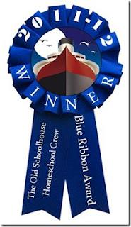 2011-2012 Blue Ribbon Awards (The Old Schoolhouse)