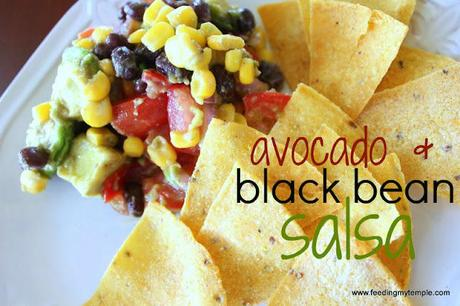 Chunky Avocado and Black Bean Salsa