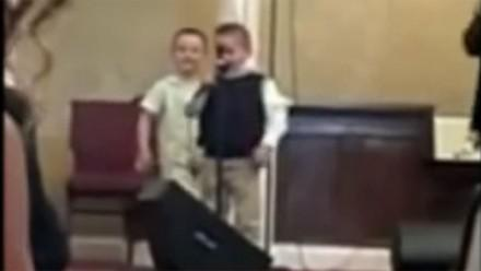 Viral video: Little boy singing 'ain't no homos gonna make it to heaven' at US church shocks, saddens