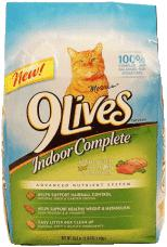 9 Lives Cat Food