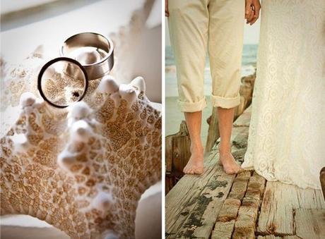 casey & john beach wedding details
