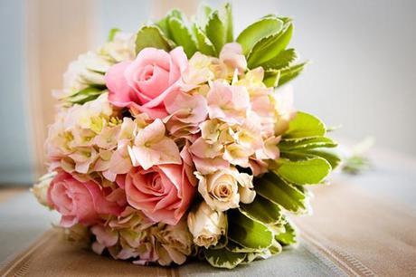 casey & john beach wedding bouquet