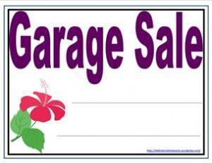 It's Garage Sale Season!