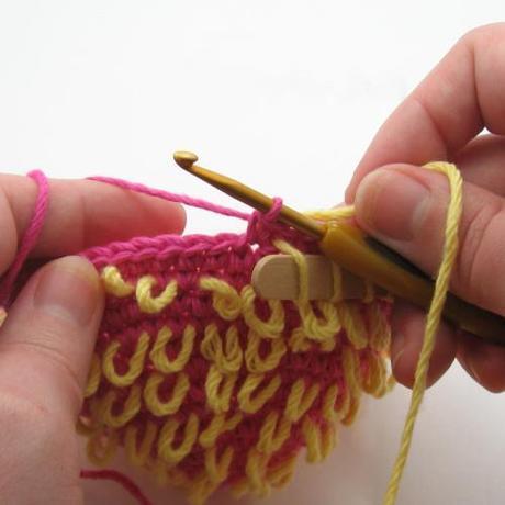 Four Unique Crochet Stitch Tutorials: Ripple, Crochet Cat , Antique Pineapple and Loop Stitch