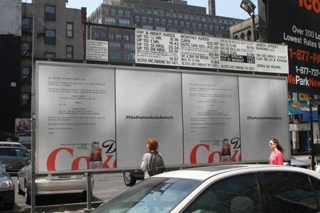 Diet Coke Tribeca Film Festival Posters by Wieden + Kennedy