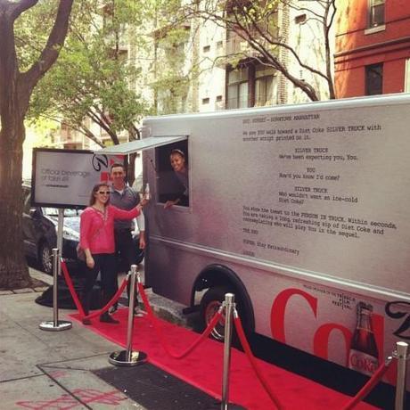 Diet Coke Tribeca Film Festival Sample Truck by Wieden + Kennedy
