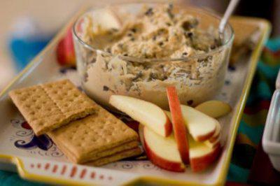 Secret Recipe Club: Peanut Butter Cookie Dough Dip