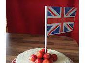 Swiss Wild Strawberry Walnut Cake