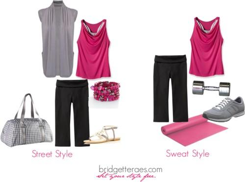 Street Style to Sweat Style