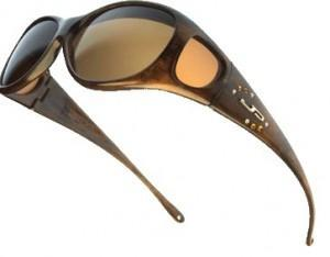 Review of QVC's Fitover Fashion Frame Polarized Sunglasses