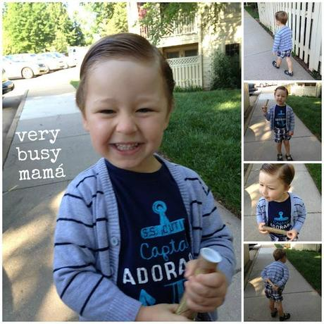 Trendy Toddler: Captain Adorable