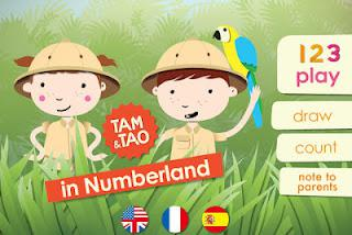 Review: Numberland HD Ipad App
