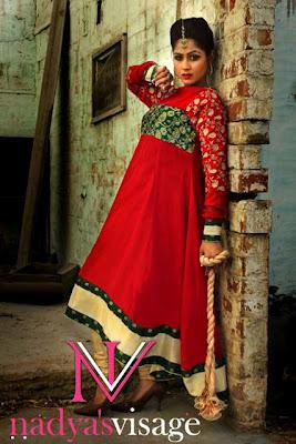 Women New Trendy Party Dresses Splattered Retro Collection 2012 by Nadya Visage