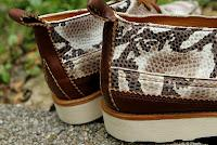 Speaking in Skins:  Yuketen Maine Guide Shoe in Snakeskin