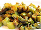 Indian Style Asparagus with Lemon Cumin