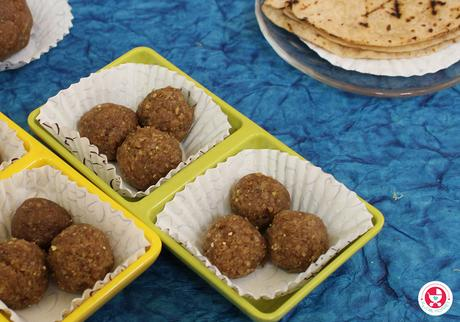 Instant Chappathi Ladoo for Kids