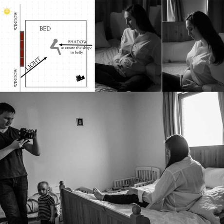 Tips on How to Take Maternity Photos at Home.