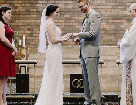 catholic wedding vows wedding ceremony couple