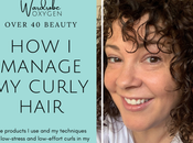 Curly Hair Routine Thinning Over