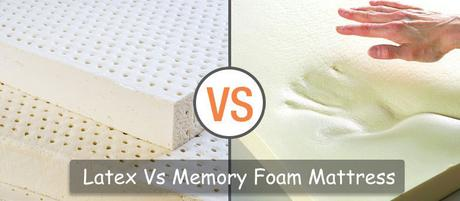 Latex Vs Memory Foam Mattress: Which One to Choose?