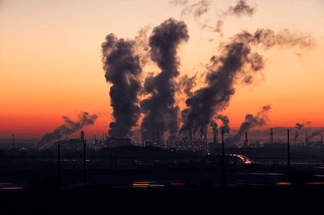 industry-sunrise-sky-air-pollution