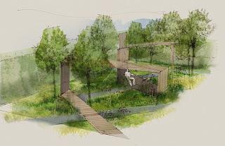 The Questions - Sam Ovens, Garden Designer:  Animal Health Trust Garden