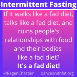 Let's Talk About Intermittent Fasting