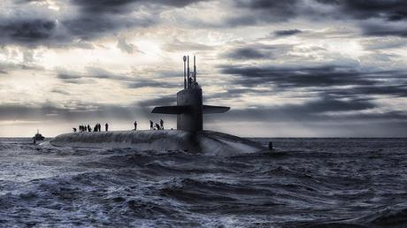 Image: Submarine and Clouds, by David Mark on Pixabay
