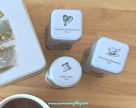 New English Teas – Alice in Wonderland gift bundle review
