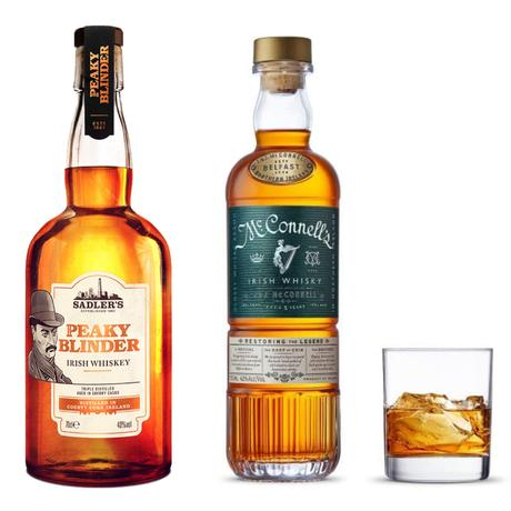 A St. Paddy's Day Review of Peaky Blinders & McConnell's Irish Whiskeys