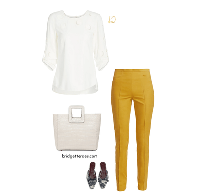 How to Wear Marigold Yellow and a Personal Message of Support