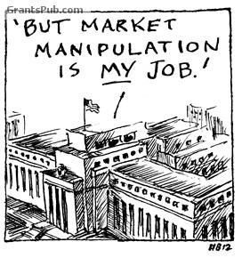 Image result for market manipulation cartoon