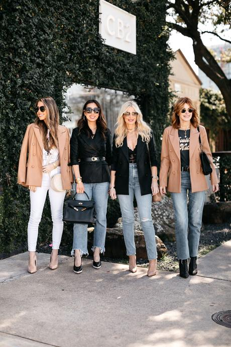 Chic at Every Age // How to Wear a Leather Blazer