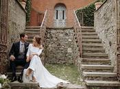 Stylish Romantic Wedding Italy with Wonderful Floral Arrangements Julia Carlo