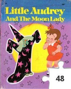 Jigsaw puzzle - Little Audrey and the Moon Lady