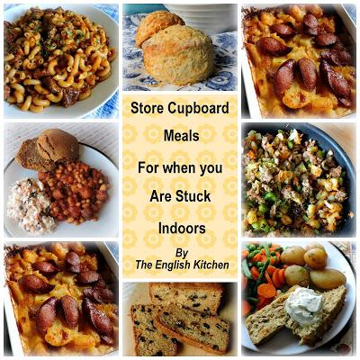 Store Cupboard Meals For Families